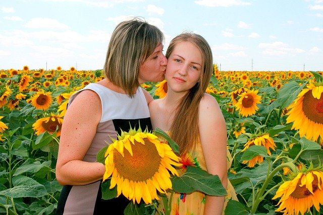 Mother daughter healthier relationship, laughing together, making us stronger, overcoming negative feelings, child birth depression